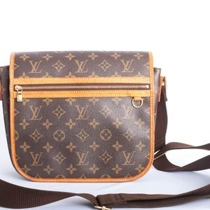 Louis Vuitton Monogram Canvas Bosphore  Messenger
